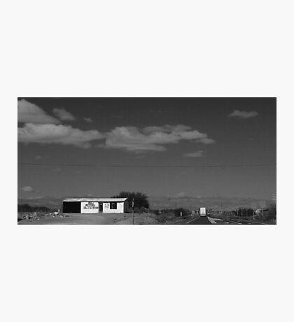 karoo garage Photographic Print