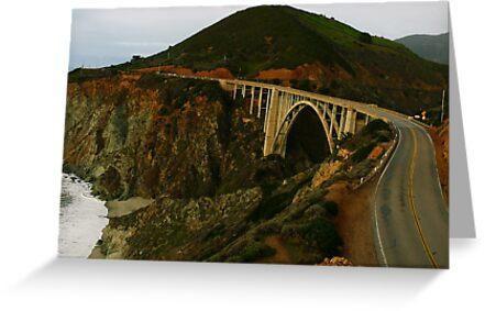 #1089   The Bixby Bridge by MyInnereyeMike
