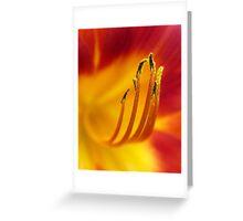 Shedding Pollen Greeting Card