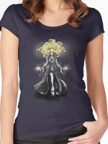 Rainbow Punk: Gothic Gold Women's Fitted Scoop T-Shirt