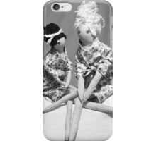 Girls Chatting! iphone case iPhone Case/Skin