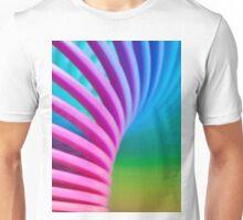 Rainbow Slinky 10 Unisex T-Shirt