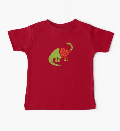 Brontosaurus in a Sweater  Baby Tee