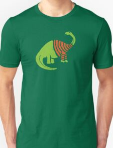 Brontosaurus in a Sweater  T-Shirt