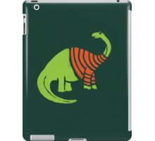 Brontosaurus in a Sweater  iPad Case/Skin