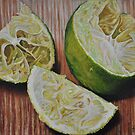Squeezed limes by sripriya mozumdar