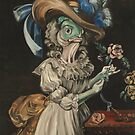 Queen Marie Antoinette en chemise (as a fish) by Ellen Marcus