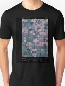 USGS Topo Map Washington State WA Glade 20110429 TM Inverted Unisex T-Shirt