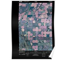 USGS Topo Map Washington State WA Glade 20110429 TM Inverted Poster