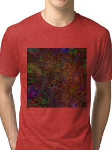 Golden Webs Tri-blend T-Shirt