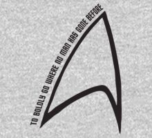 To boldly go... Kids Clothes