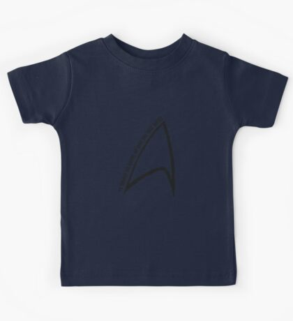 To boldly go... Kids Tee