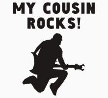 My Cousin Rocks Kids Tee
