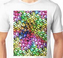 Fluo Straws Unisex T-Shirt