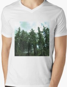 forest Mens V-Neck T-Shirt