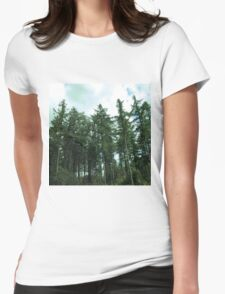 forest Womens Fitted T-Shirt