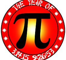 Year of Pi  3/14/15 9:26:53  by Gravityx9