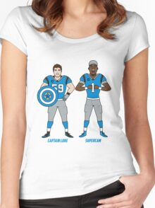 Luke And Cam! Women's Fitted Scoop T-Shirt