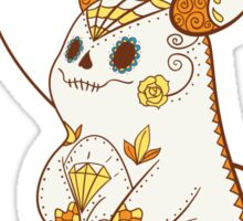 Raichu Pokemuerto | Pokemon & Day of The Dead Mashup Sticker