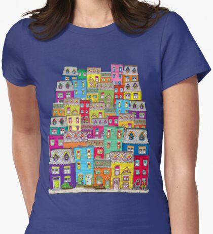 Way Downtown Womens Fitted T-Shirt