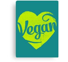 Vegan Canvas Print