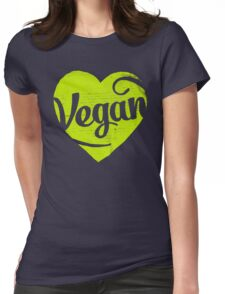 Vegan Womens Fitted T-Shirt