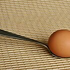 Egg `n spoon by Heather Thorsen