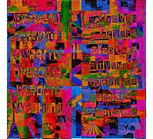 1651 Abstract Thought Photographic Print