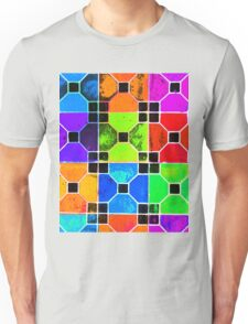 COLOUR TILED Unisex T-Shirt
