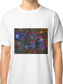 Aqua Garden Zen Classic T-Shirt