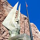 Hoover Dam Dedication Monument Fiqure by John Schneider