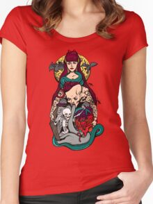 buried alive for you Women's Fitted Scoop T-Shirt