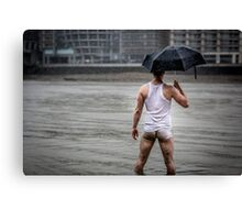 Only in London with Nick Canvas Print