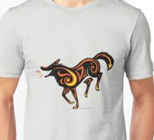 Fire Dog Dance Unisex T-Shirt