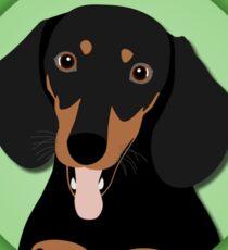 Wiener Dog Coffee - Get Hyper! Sticker
