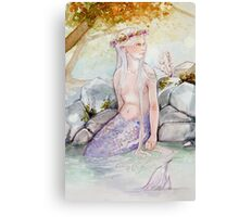 River Scales Canvas Print