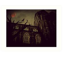 Haunted Honeymoon Art Print