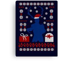 Ugly Christmas Sweater - WENDIGO Canvas Print