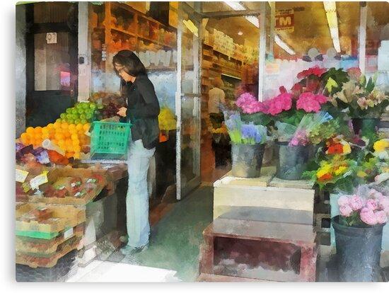 Buying Fresh Fruit by Susan Savad