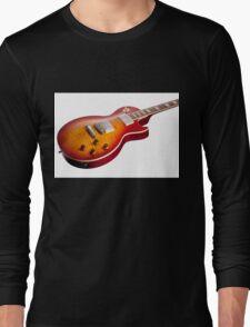 Les Paul Guitar Cherry Sunburst Long Sleeve T-Shirt