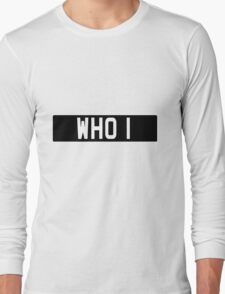 Doctor Who Bessie Numberplate Long Sleeve T-Shirt