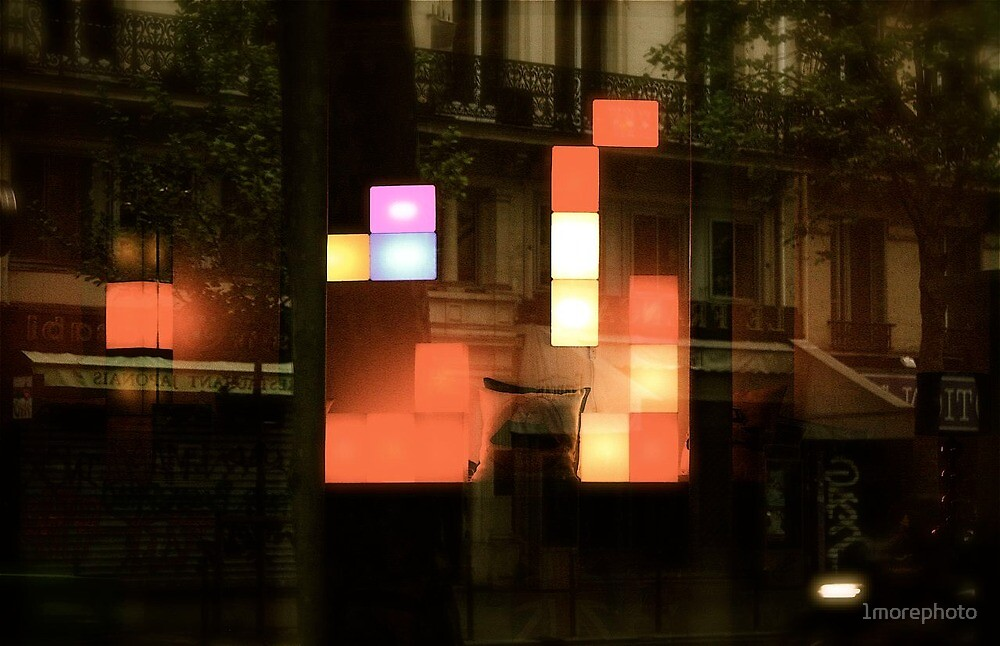 When dreams of Paul Klee reborn in Paris .... by 1morephoto