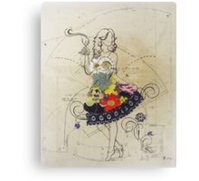 Blooming Dresses Canvas Print