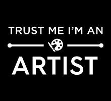 Trust Me I'm An Artist by Fardan Munshi