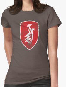 Distressed classic Zündapp emblem Womens Fitted T-Shirt