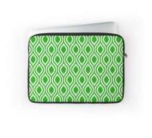 Modern Classic Green Pattern Laptop Sleeve