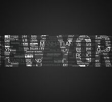 New York City - Typography by danwa