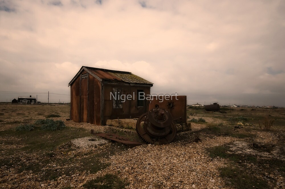 Fisherman's Shack by Nigel Bangert