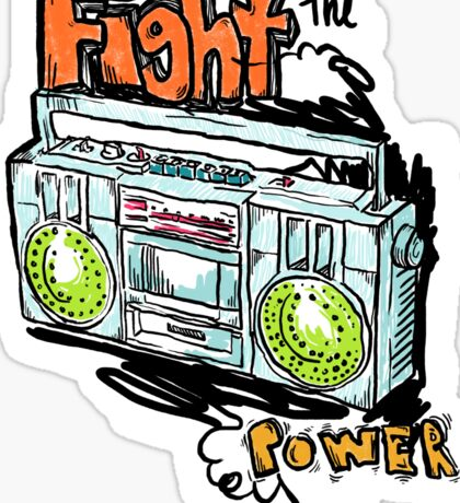 Fight the Power! Sticker