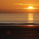 Sunset over Woolacombe Bay by James1980